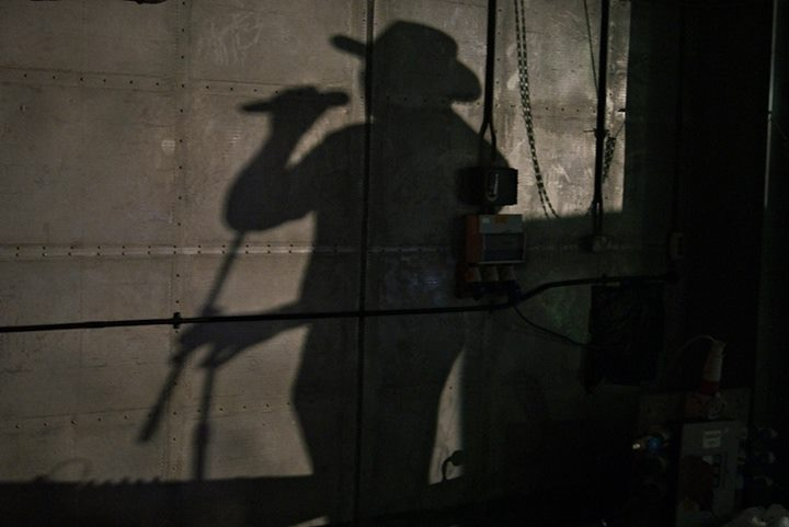 Man in the Hat or Shadow in the Stetson?
